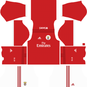 S.L. Benfica Home Kits DLS 2018
