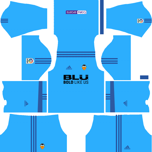 Valencia CF Goalkeeper Away Kits DLS 2018