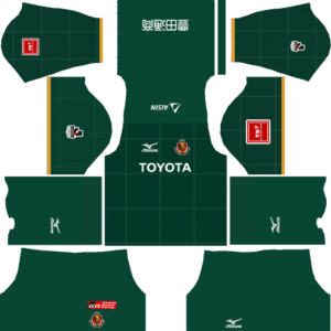 Nagoya Grampus Goalkeeper Home Kits DLS 2018