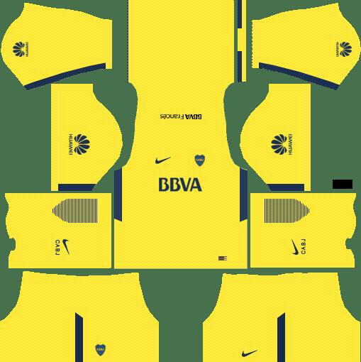 Boca Juniors Away Kits DLS 2018