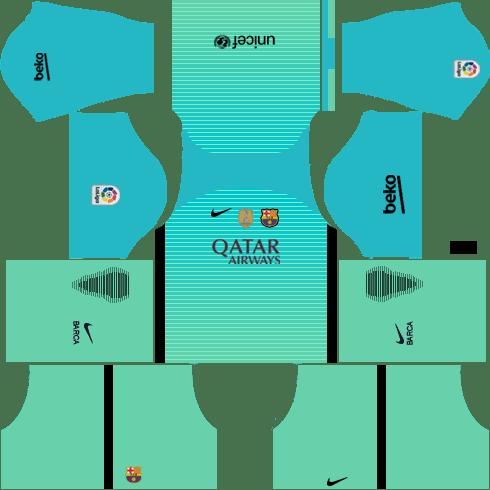 Barcelona Third Kit DLS 2018