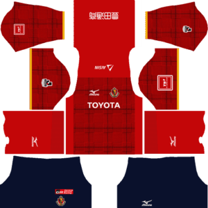 Nagoya Grampus Home Kits DLS 2018