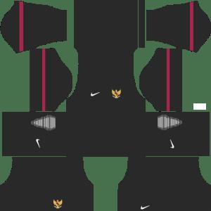 Indonesia Goalkeeper Home Kits DLS 2018