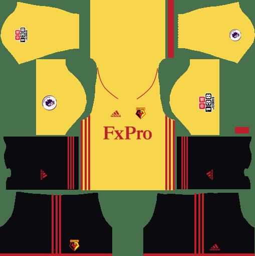 Watford F.C. Away Kits DLS 2018