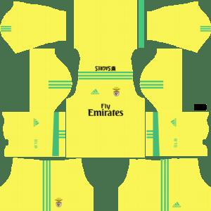 S.L. Benfica Goalkeeper Away Kits DLS 2018