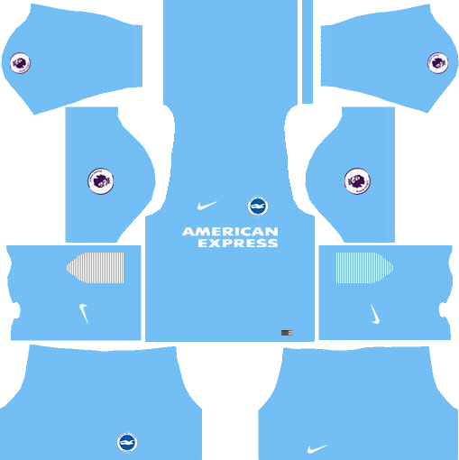 Brighton & Hove Albion F.C. Goalkeeper Away Kits DLS 2018