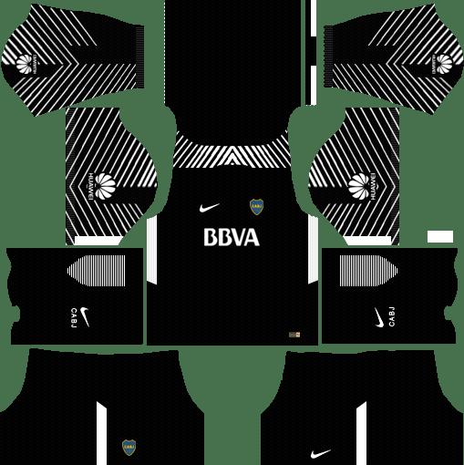 Boca Juniors Goalkeeper Kits DLS 2018
