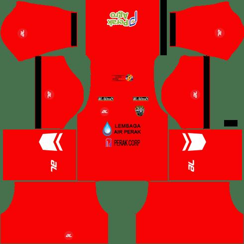Perak Kits Goalkeeper Home DLS 2018