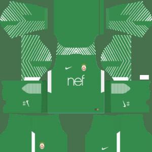 Galatasaray S.K. Goalkeeper Home Kits DLS 2018
