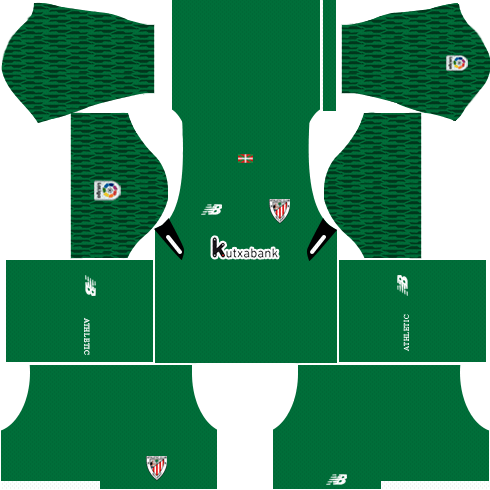Athletic Bilbao Goalkeeper Away Kits DLS 2018