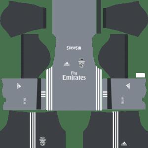 S.L. Benfica Away Kits DLS 2018