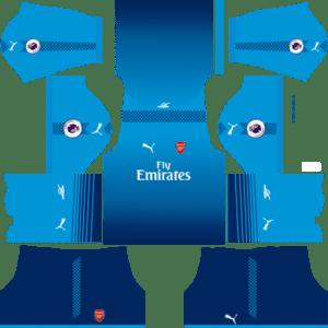 Arsenal Away Kit DLS 2018