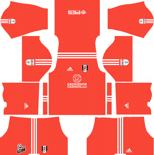 Fulham F.C. Goalkeeper Home Kits DLS 2018