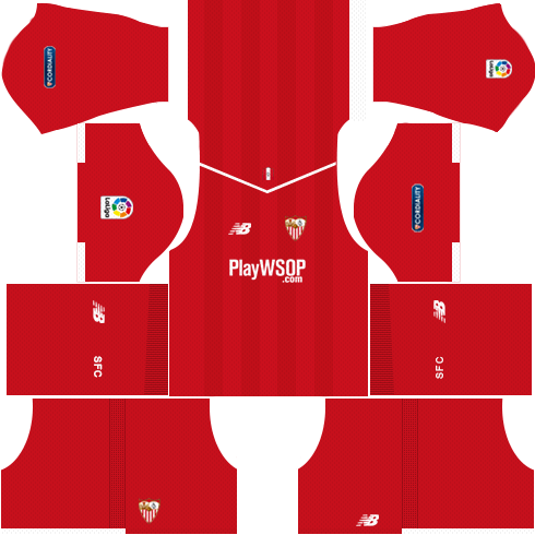 Sevilla FC Away Kits DLS 2018