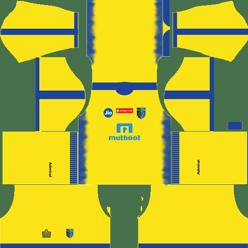 Kerala Blasters CF Home kits 2018