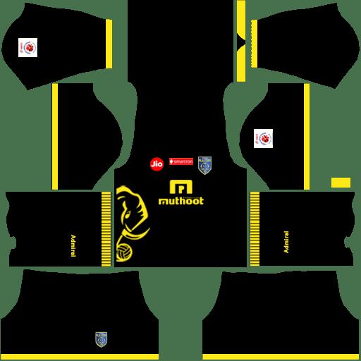 Kerala Blasters Away kits 2018