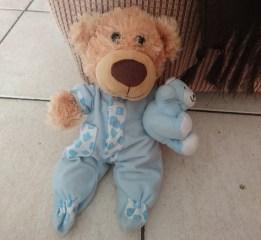 Chair Bear...ready for bedtime