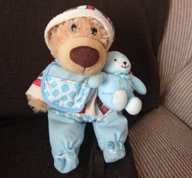 Not without my teddy