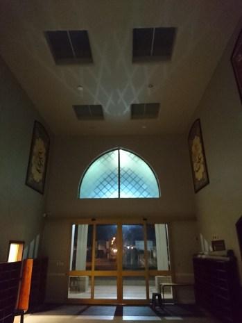 Shadows in the masjid