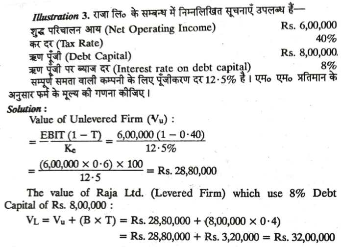 Theories of Capital Structure
