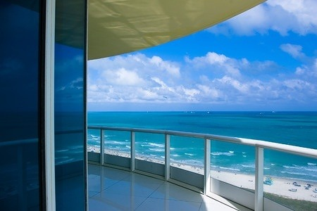 Beach Condo Balcony