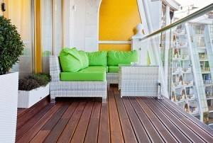 Create a cozy reading space with low profile, small footprint, loungers.