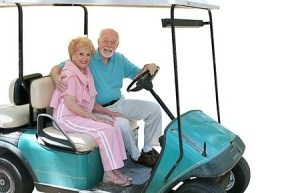 Golf carts are a fun and economical way to get around!