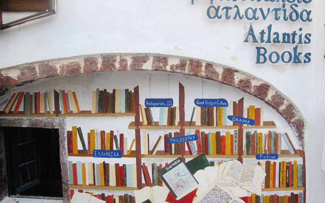 A new facade for Atlantis Books