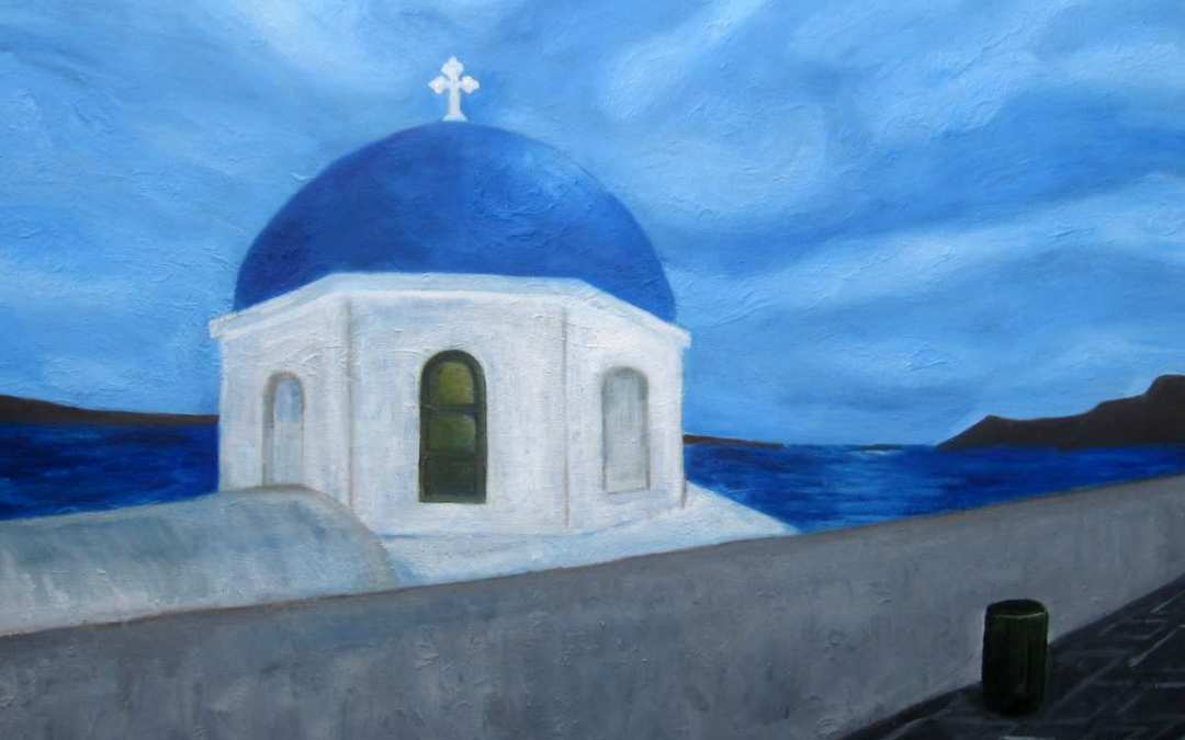Oil Paintings Santorini