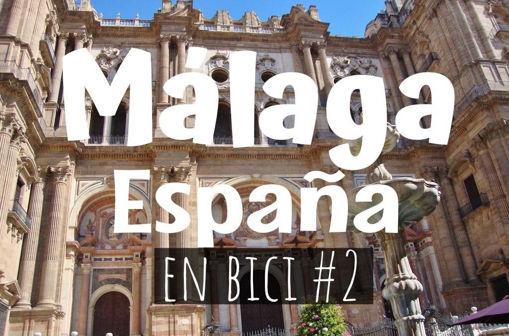 Málaga, España en Bicicleta