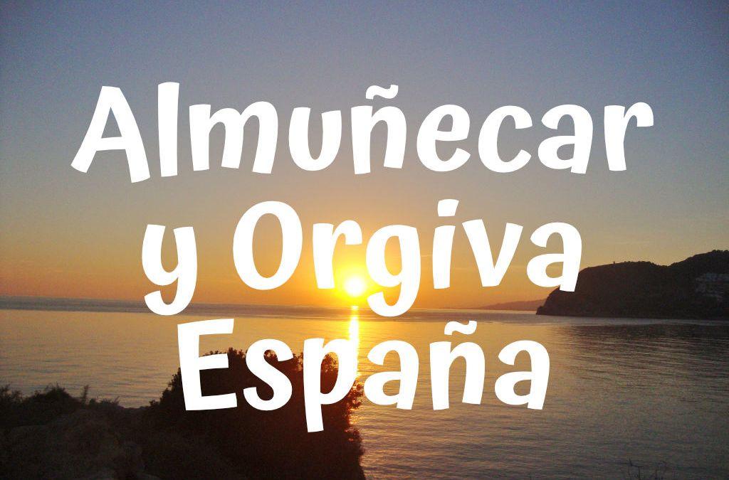 Almuñecar y Orgiva en España. Viajando en bicicleta