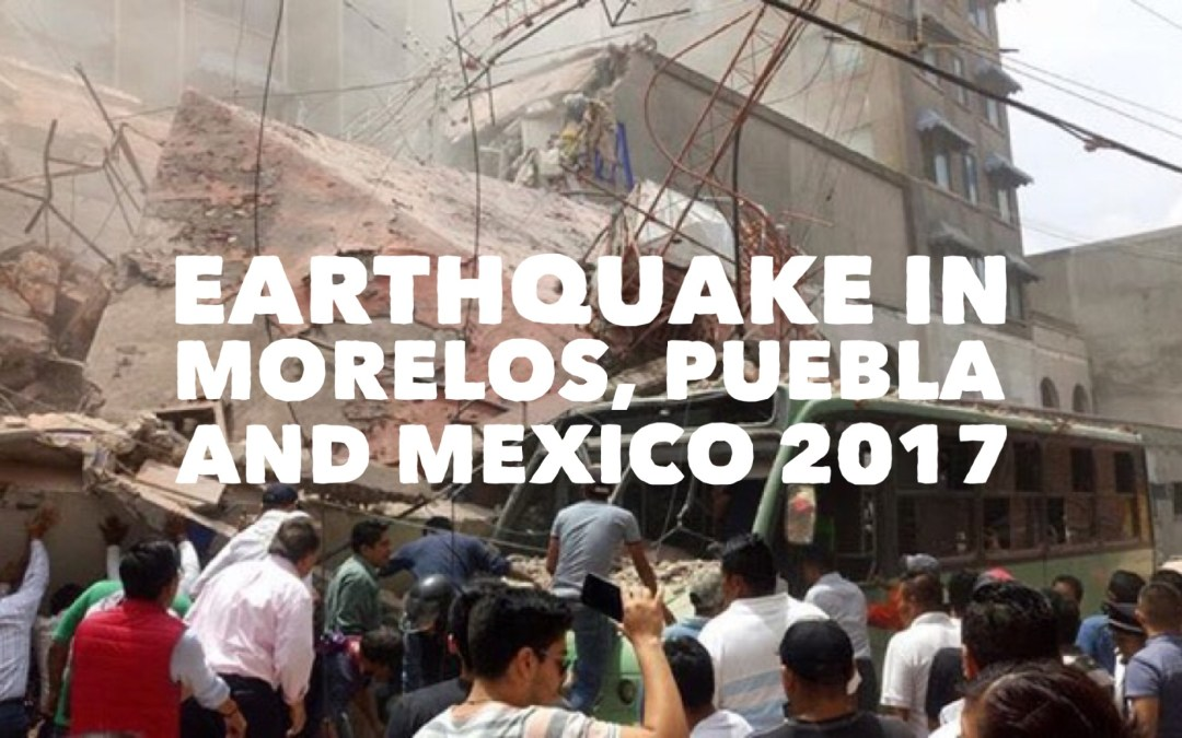 Earthquake in Mexico ¿How can we help?