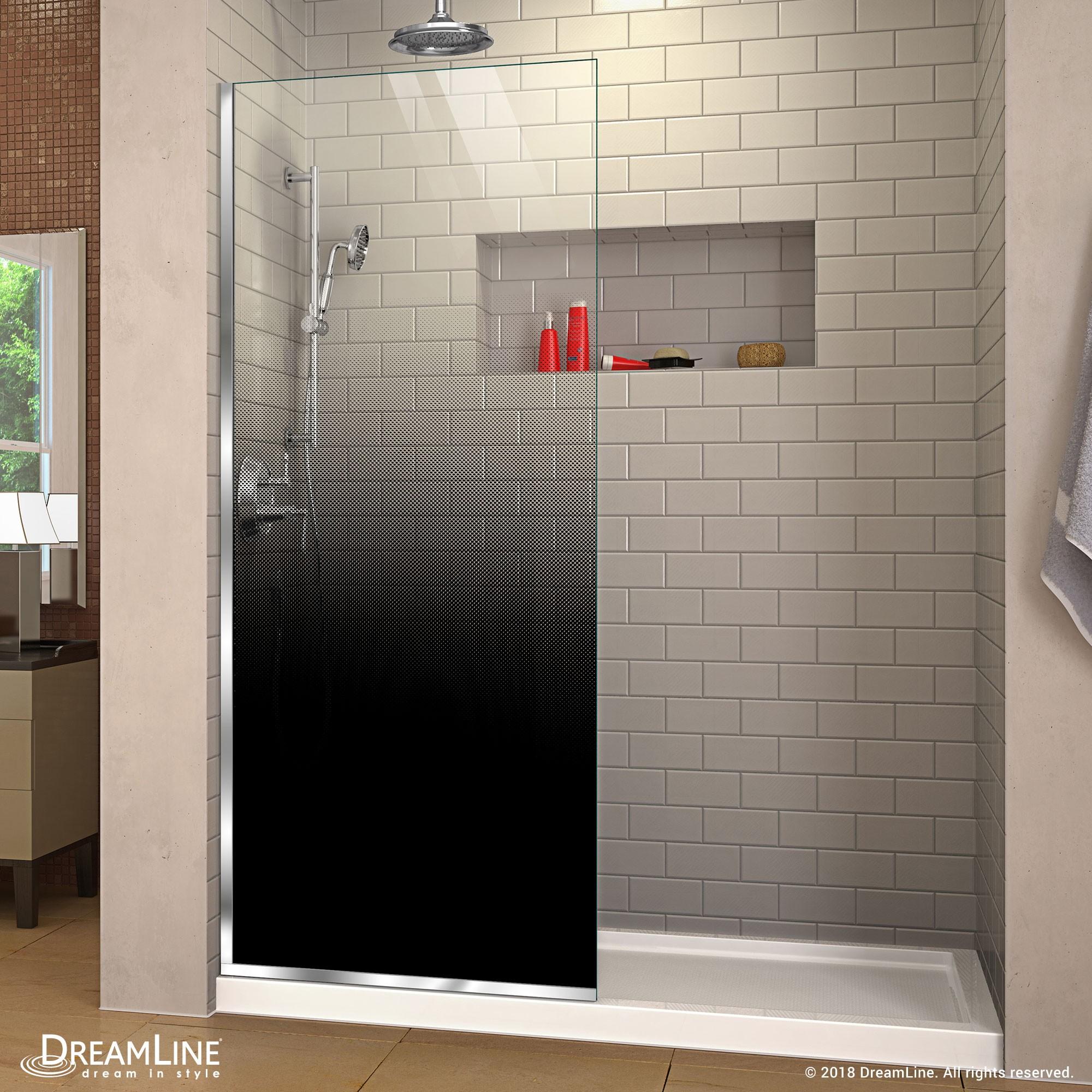 Linea Ombre Shower Door Dreamline