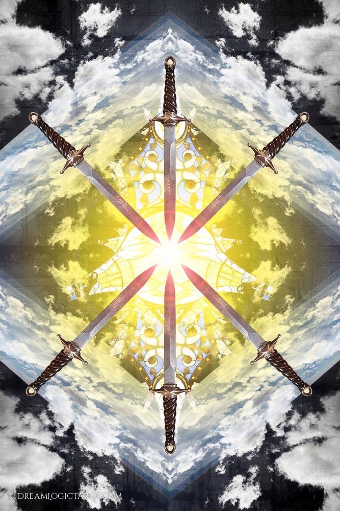 The Six of Swords