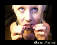 Svetlyo , Custom lip tattoo