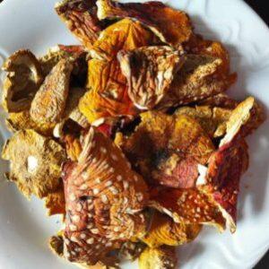 Amanita muscaria caps (eBay.com)