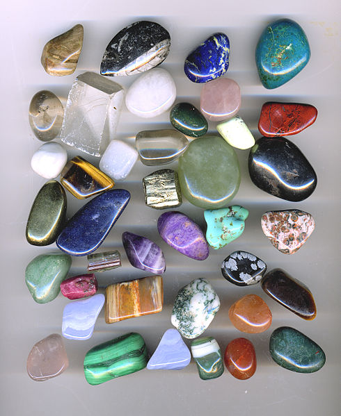Crystals, Rocks, Gems
