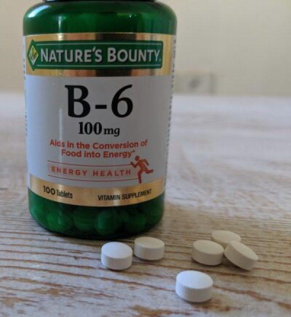 Vitamin B-6 (Nature's Bounty)