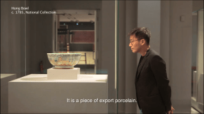This episode featured the Canton Hong Bowl. I used it to talk about the Opium War and the opening up of the Treaty Ports in China, from whence many Chinese Singaporeans hailed.