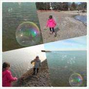 Bubble montage