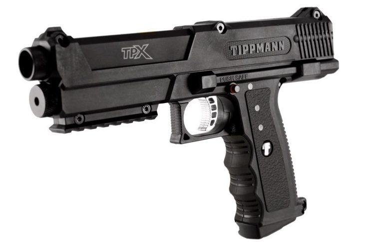 Tippmann TiPX .68 Caliber Paintball Pistol Review