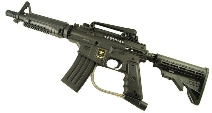 Tippmann US Army Alpha Black Elite Tactical Paintball Gun Review