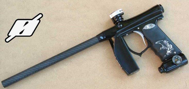 DeadlyWind Null Carbon Fiber Paintball Gun Barrel Review