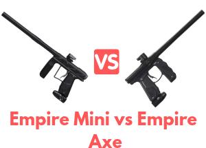 Empire Mini vs Empire Axe Paintball Gun