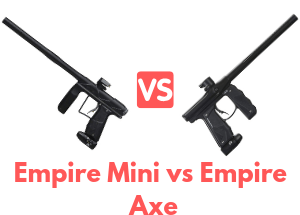 Empire Mini vs Empire Axe Paintball Gun
