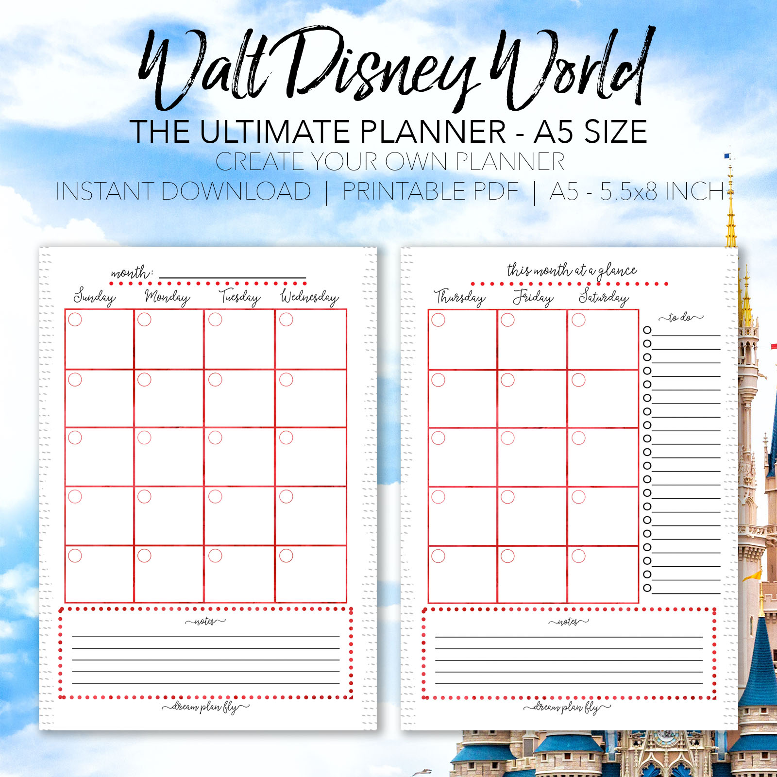 Ultimate Walt Disney World Vacation Planner