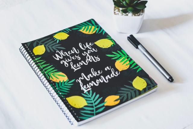 When Life Gives You Lemons Make a Lemonade Planner