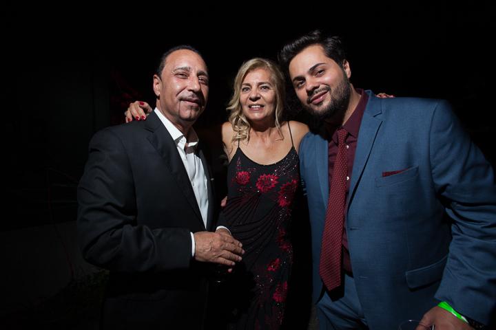Yuri Alves and friends at Newark Film Showcase