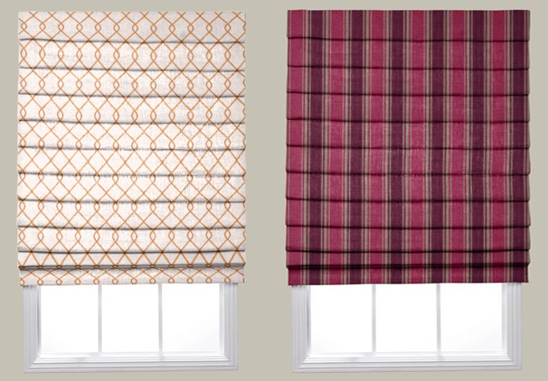 Smith + Noble's Roman Shades