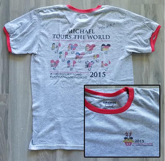 EPCOT Around the World Tshirt